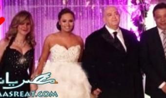 وحفلة زفاف زواج عماد اديب ومروة حسين