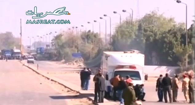حادث مسطرد في شبرا الخبمة بالقليوبية