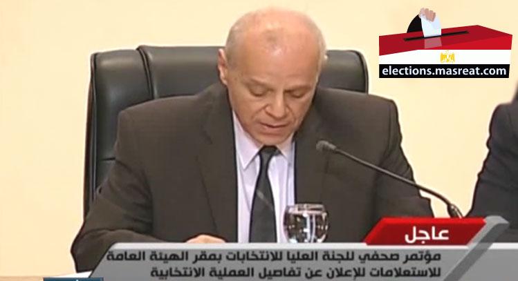 تاريخ مواعيد الانتخابات الرئاسية المصرية 2014