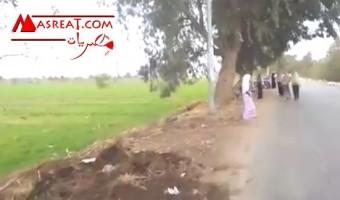 اخبار الحوادث في محافظة الدقهلية قرية اويش الحجر