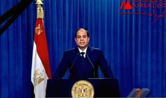 السيسي يتحدذ بعد قتل المصريين المختطفين في ليبيا